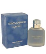 Light Blue Eau Intense by Dolce & Gabbana Eau De Parfum Spray 3.3 oz For... - $72.95