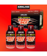 Kirkland Signature Extra Strength Energy Shot, 48 Bottles - $45.99