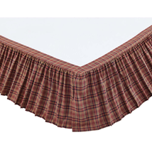 Parker Bed Skirt - All Sizes Available - Vhc Brands
