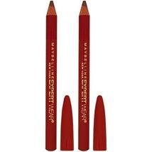 Maybelline Makeup Expert Wear Twin Eyebrow Pencils and Eyeliner Pencils, Light B - $8.26
