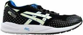 Asics Gel Saga Black/Glow In The Dark H4A0N 9007 Men's SZ 11.5 - $49.87