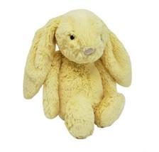 "11 "" Jellycat Timide Bébé Citron Jaune Bunny Rabbit Animal en Peluche - $45.45"