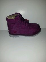 TODDLER'S TIMBERLAND 6 INCH CLASSIC BOOT/ PURPLE FLORAL/A175K/PRIMALOFT/ECO - $44.99