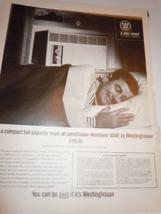 Vintage Westinghouse Mobliaire Air Conditioner Print Magazine Advertisement 1964 - $3.99
