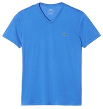 Lacoste Men's Sport Athletic Pima Cotton V-Neck Shirt T-Shirt West Indies