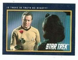Star Trek card #199 Is There in Truth No Beauty Captain James T Kirk Wil... - $3.00