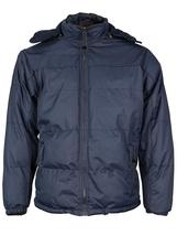 Men's Heavyweight Insulated Lined Jacket with Removable Hood BIGBEAR image 7