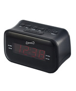 Supersonic Dual Alarm Clock Radio with Wireless Connectivity - $34.40