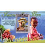 Mushrooms Stamp Armillaria Gallica Agustin Pyrame de Candolle S/S MNH #8273 - £10.25 GBP