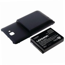 LENMAR Extended Battery for Samsung Galaxy Note - Retail Packaging - Dar... - $20.15