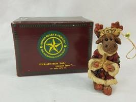 "Boyds Bears Folkstone Collection ""Joy von Merrymoose Style 4942"" PCF19 - $6.95"