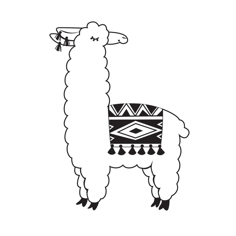 Llama emboss1