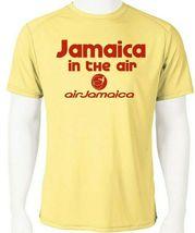 Air jamaica dri fit graphic tshirt moisture wicking spf raggae rasta airline tee thumb200