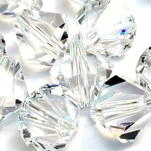 Swarovski 5301/5328 8mm Crystal Bicone Beads Sold in Qty's of 8  (Lot 798) - $7.50