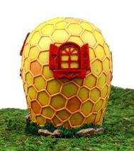 Garden Miniature Bear Bee Hive Honeycomb Cottage House Figurine #GFT02 - $55.17