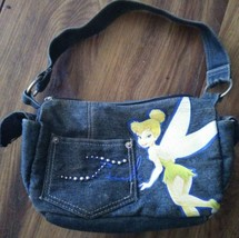 Disney Tinkerbell Denim Bag Purse Authentic, Genuine, (VGC) - $18.80