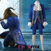 2017 Movie New Beauty and the Beast The Beast Le Prince Adam Cosplay Costume - $48.23
