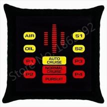 NEW! Knight Rider Kitt Control Panel Throw Pillow! - $20.79