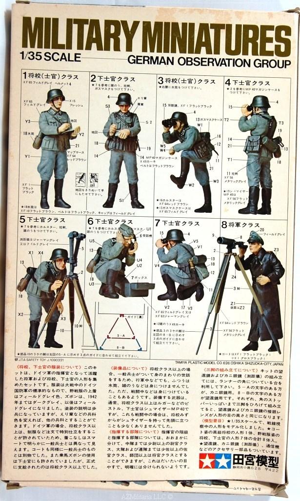 1/35 German Observation Group Kit No MM 173