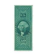 1862-71 $10 R96c First Issue, U.S. Internal Revenue, Probate of Will, Wa... - $46.99