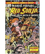 Marvel Feature Comic Book  2nd Series #2 Marvel Comics Red Sonja 1976 FINE+ - $4.75