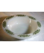 "Anchor Hocking Springwood Rimmed  Berry/Dessert Bowl 5 5/8"" - $2.76"