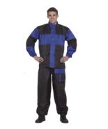 2 Piece Rain Suit Motorcycle Windproof Waterproof Gear Safety Reflectors... - $59.99