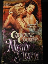 Night Storm (Night Fire Trilogy) Paperback by Catherine Coulter First Ed... - $11.95