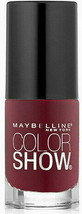 Maybelline Color Show Wine & Forever # 215 Nail Polish  - $32.79