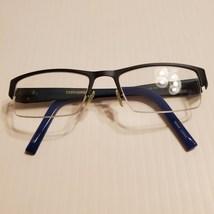 Converse Stencil Kit Navy Half-Rimless Eyeglasses Frames 49-18-135 - $25.00
