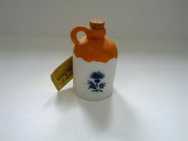 vintage country kitchen bisque porcelain bell jug shaped Jasco brand han... - $9.89
