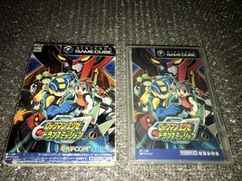 Nintendo GameCube Rockman EXE Transmission GC NTSC-J Japan Action Game used - $11.75
