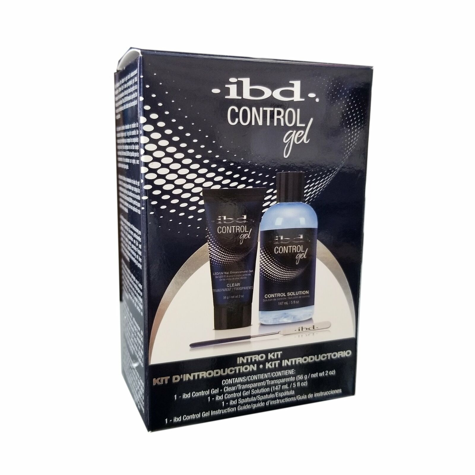 IBD Control Gel - Intro Kit #67628 - New Pro-Hybrid Gel