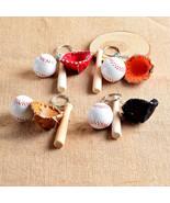 Handmade Souvenir Baseball Mini gloves Key Sports Chain Car Bike Keyring... - $9.29
