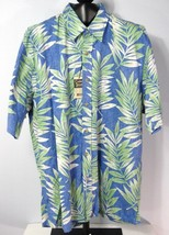 Hawaiian Shirt Cooke Street Honolulu Mens M Medium Short Sleeve Cotton -... - $17.95