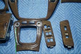 01-07 Toyota Highlander Woodgrain Dash Trim Kit Vents Console 8pc image 5