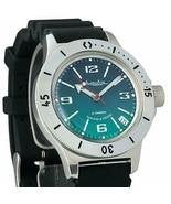 Vostok Amphibia 120848 /2416 Military Russian Diver Watch Scuba Dude Aut... - $66.02