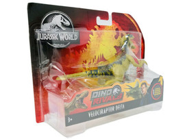 JURASSIC WORLD Dino Rivals VELOCIRAPTOR DELTA Action Figure Attack Pack NEW - $24.95