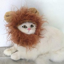 lcfun Lion Mane Costume for Cat & Dog - Pet Wig Clothes for Halloween Party - $11.80