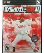 Major League Baseball 2K11 PC DVD-ROM MLB 2K11 2011 Complete/Tested Rare  - $62.70
