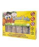 Schoolsafe Banana Chocolate Chip Snack Cakes 5 boxes of 12 Cakes Canadian - $79.99