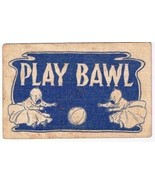 Comic Postcard Play Bawl Crying Babies Ball 1907 Broken Circle Cancel Li... - $2.16