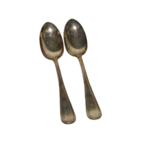 2 E H Smith Portia Serving Spoon Silverplate Silver Plate Large 16964 Sp... - $29.69
