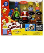 Simpsons - Family Christmas - Interactive Environment w/5 exclusive figures - $78.21