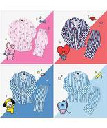Korean Star BT21 Kawaii Cartoon Soft Pajamas Sleepwear Kpop BTS Bangtan ... - $29.99+