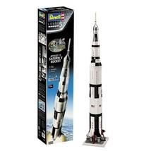 Apollo 11 Saturn V Rocket 50th Anniversary First Moon Landing 1:96 Revell Model - $157.28