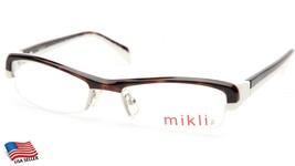 New Alain Mikli Ml 1004 0002 HAVANA/WHITE Eyeglasses Frame 50-17-133mm B26mm - $91.96