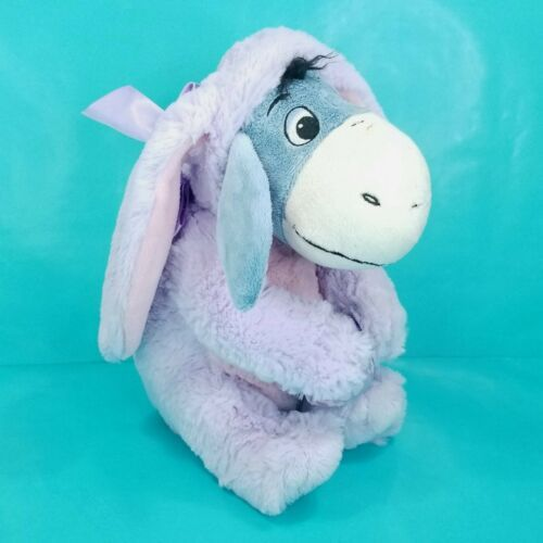 Primary image for Disney Store Easter Spring Eeyore Purple Bunny Costume Stuffed Animal Plush 11""