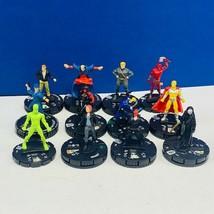 Heroclix miniature mixed 12 figure lot comic game neca Marvel Sin Blackd... - $19.18
