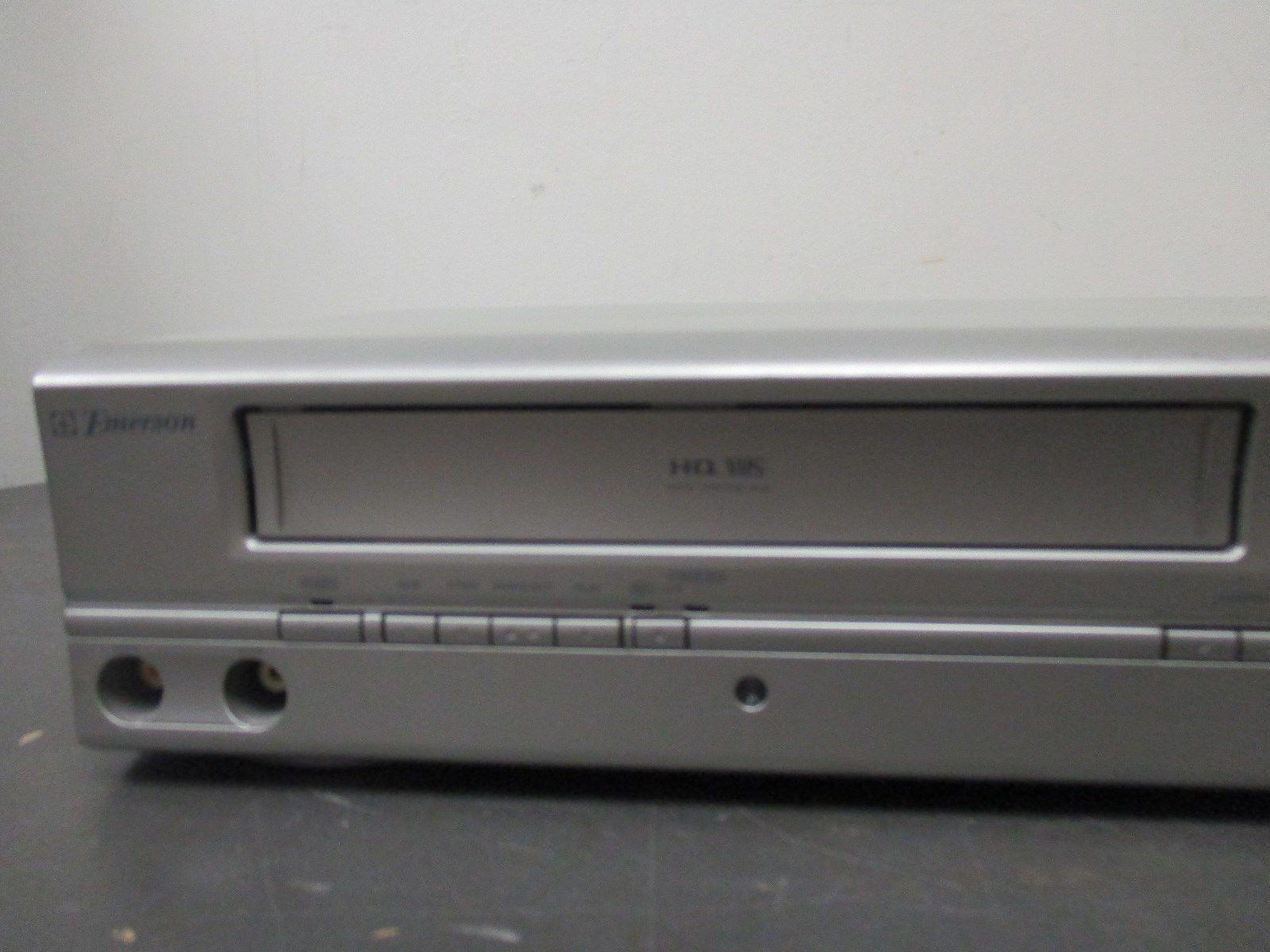 emerson ewd2004 dvd vcr player vhs combo and 13 similar items rh bonanza com Emerson DVD VCR Combo Emerson TV Logo